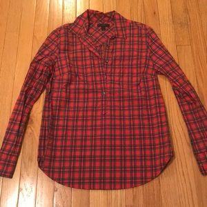 J. Crew popover shirt